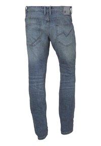 TOM TAILOR DENIM - AEDEN - Straight leg jeans - light stone blue - 1