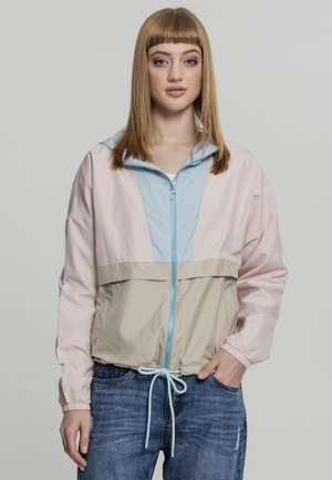 Summer jacket - pink/blue
