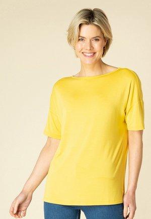 TISKA - T-shirt basic - dark yellow