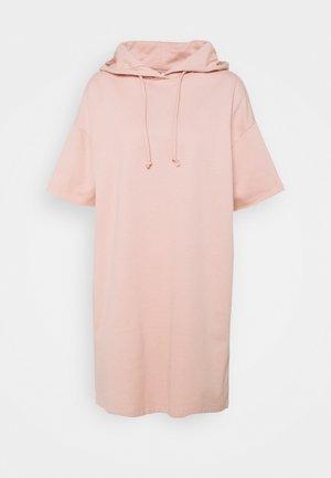 ONLDREAMER HOOD DRESS - Day dress - rose smoke