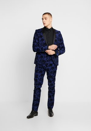 FRAN FLORAL FLOCK SUIT - Completo - bright blue
