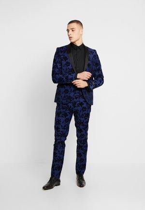 FRAN FLORAL FLOCK SUIT - Costume - bright blue