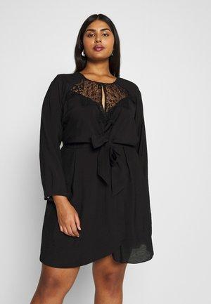DRESS CHARM - Day dress - black