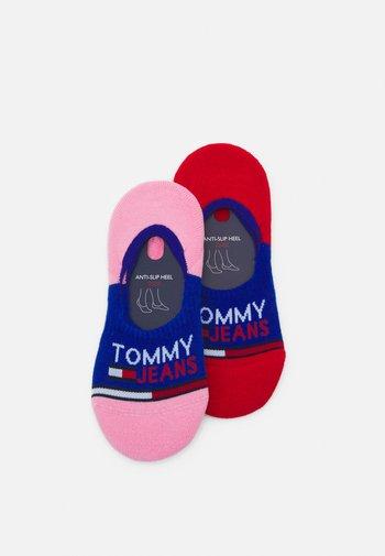 NO SHOW MID CUT SOCKS 2 PACK UNISEX - Trainer socks - dark blue
