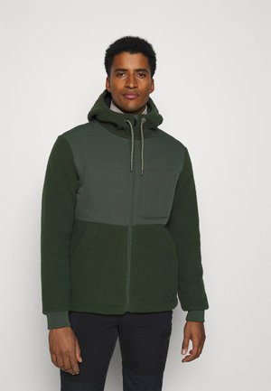 MENS MANUKAU JACKET - Fleece jacket - spinach