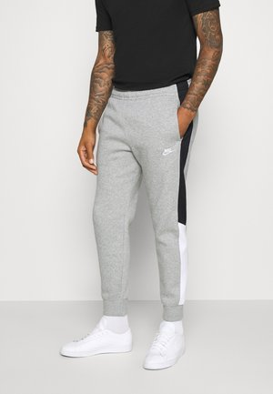 Pantalones deportivos - grey heather/black/white