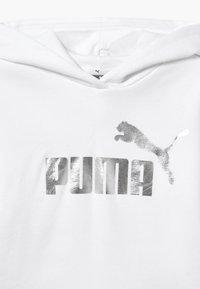 Puma - HOODIE - Felpa con cappuccio - white - 3