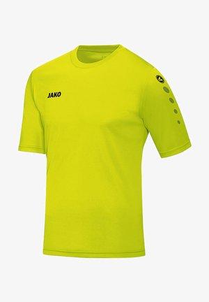 TEAMSPORT KURZARM  - Sports shirt - gelb