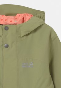 Jack Wolfskin - ROCK TOWN JACKET GIRLS - Outdoor jacket - khaki