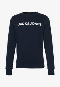 Jack & Jones - JACLOUNGE ONECK - Sweatshirt - navy blazer - 4