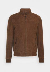 Serge Pariente - HANK - Leather jacket - tobacco - 0