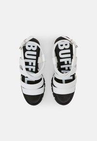 Buffalo - VEGAN RAGAN - Platform sandals - white - 4