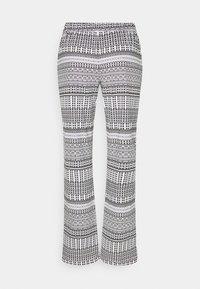 LASCANA - ETHNO PANTS - Pyjama bottoms - black - 1