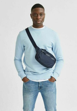 SLHJASON CREW NECK - Sweatshirt - light blue