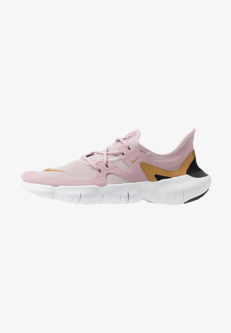Nike Performance - FREE RN 5.0 - Minimalist running shoes - plum chalk/metallic gold/platinum violet