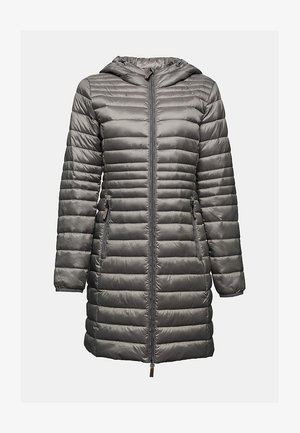 Winter coat - light gunmetal