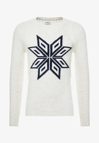 TOM TAILOR - COSY NEP SWEATER - Jumper - offwhite - 3