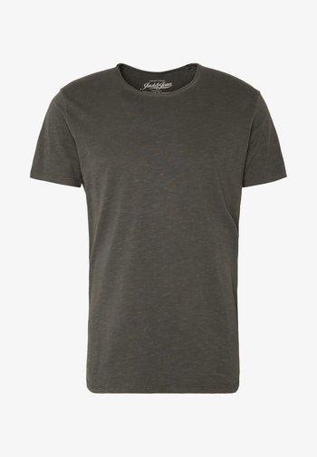 JJEASHER TEE O-NECK NOOS - Basic T-shirt - black/reg