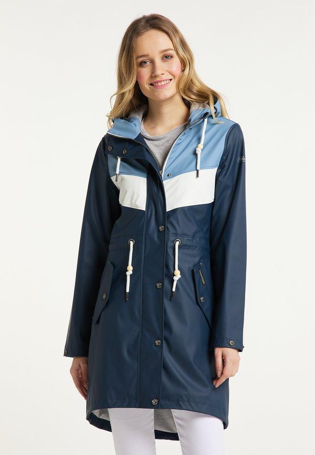 Vodotěsná bunda - denimblau marine