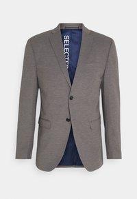Selected Homme - SLIM JIM FLEX - Suit jacket - light grey melange - 0