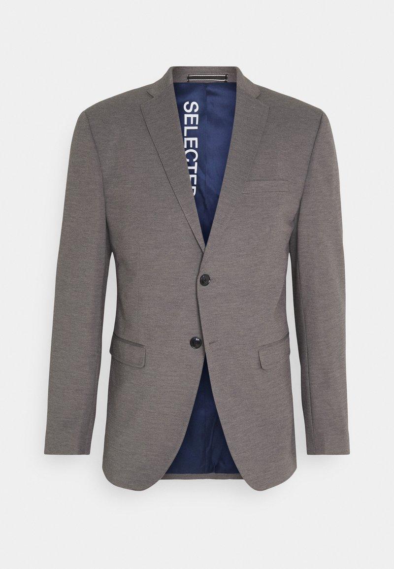 Selected Homme - SLIM JIM FLEX - Suit jacket - light grey melange