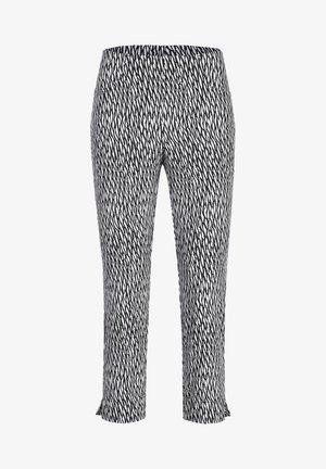 LOLI-602 95945 CAPRIHOSE JACQUARD - Trousers - schwarz