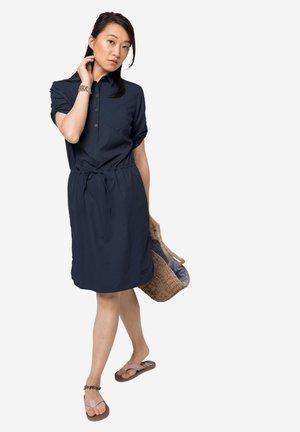 Shirt dress - midnight blue