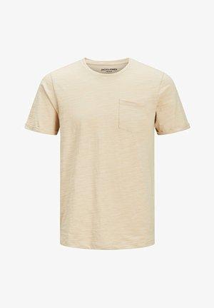 SLIM FIT - T-shirt basic - oxford tan