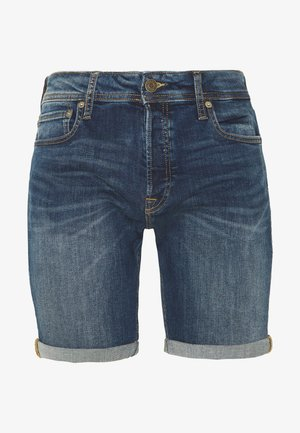JJIRICK JJORIGINAL SHORTS  - Farkkushortsit - blue denim