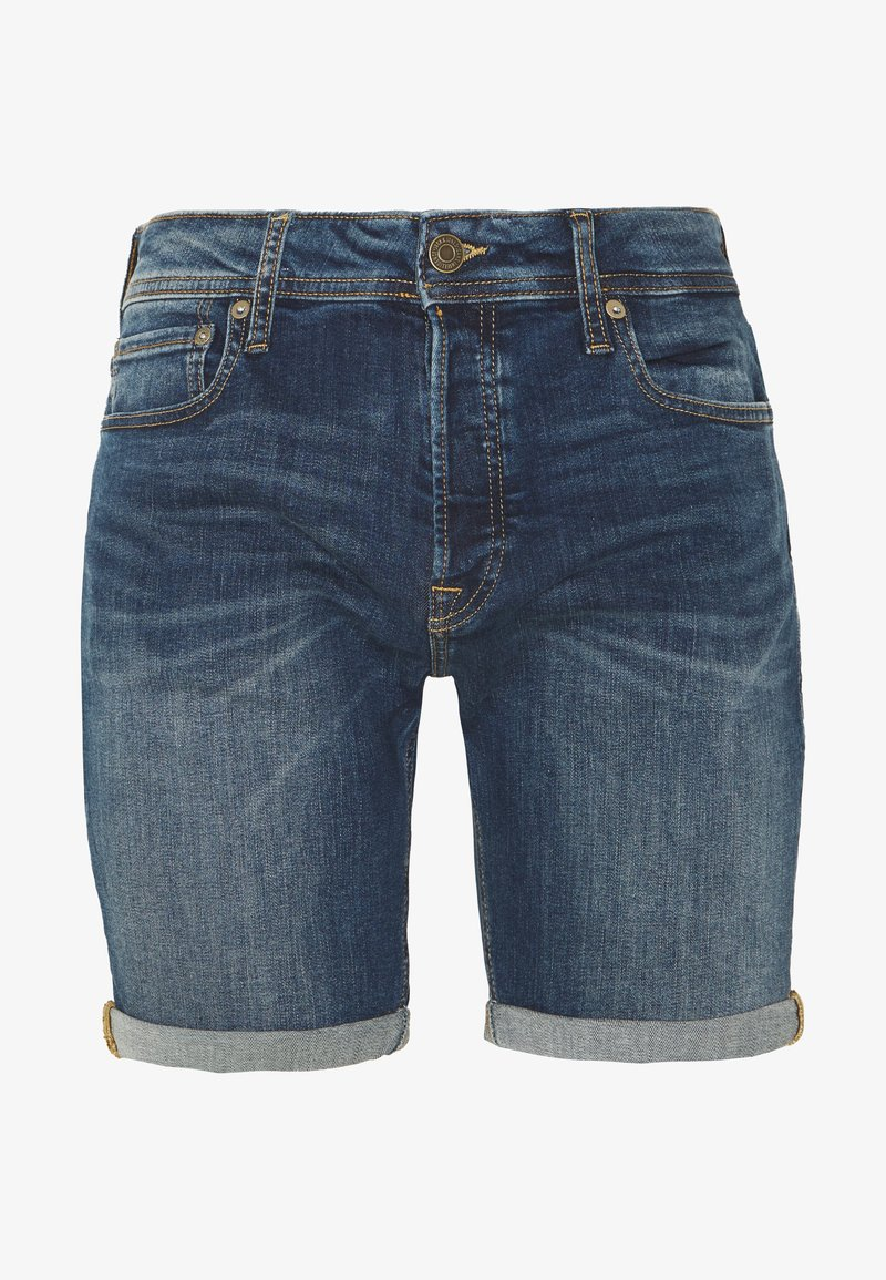 Jack & Jones - JJIRICK JJORIGINAL SHORTS  - Shorts vaqueros - blue denim