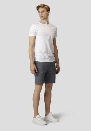 MILANO JERSEY SHORTS - Shorts - denim melange