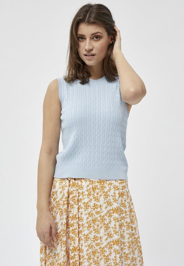 TANA  - Débardeur - cashmere blue