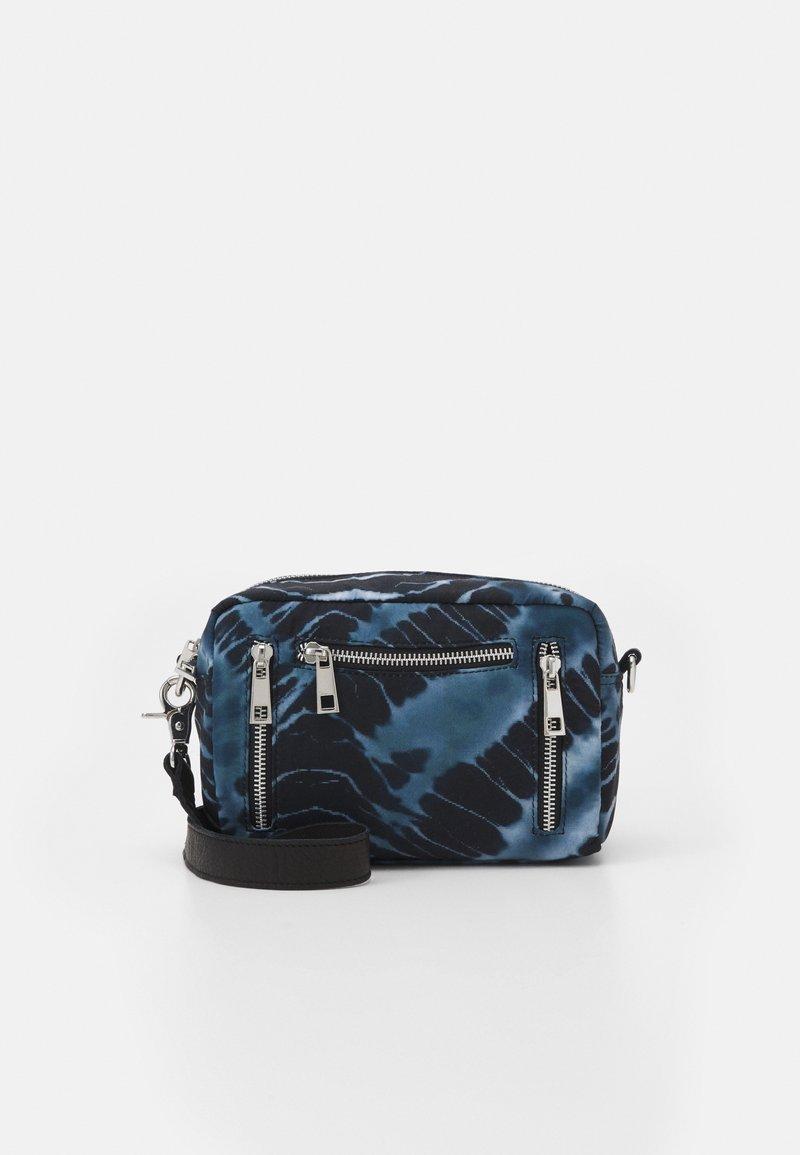 Núnoo - MIMI BATIK HALLOWEEN - Across body bag - black/grey