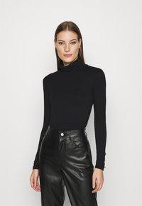 Dorothy Perkins - T-shirt à manches longues - black - 0