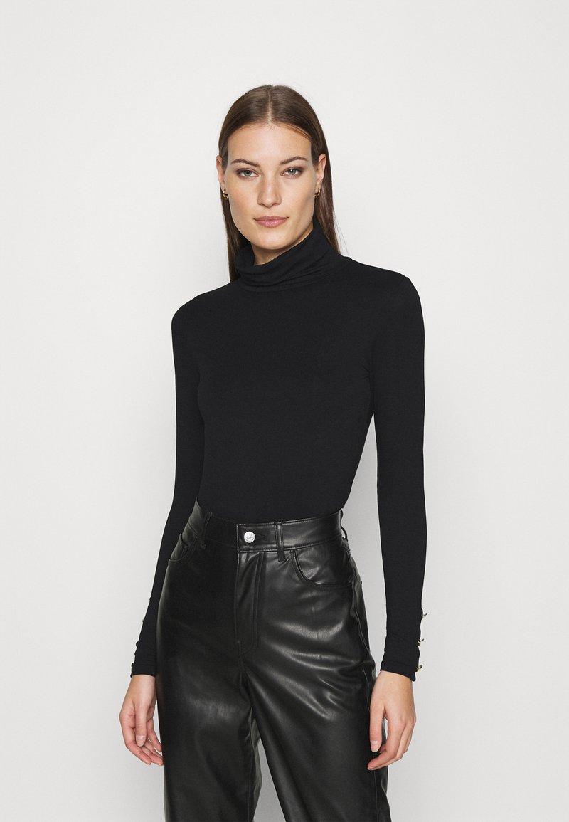 Dorothy Perkins - T-shirt à manches longues - black