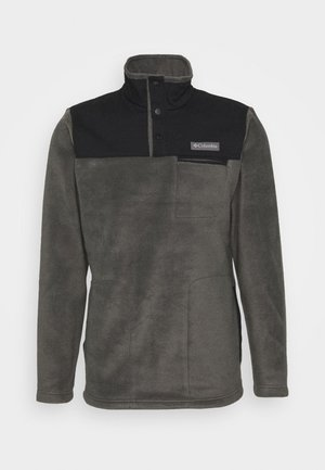COTTONWOOD PARKHALF SNAP - Fleecepullover - shark/black