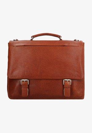 MALMÖ  - Briefcase - cognac