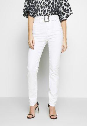 Skinny džíny - optical white