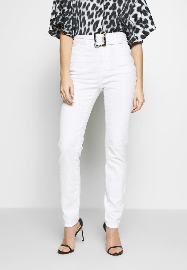 Jeansy Skinny Fit - optical white