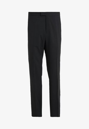 EDWARDS TECHNO GABARDINE TROUSERS - Trousers - black