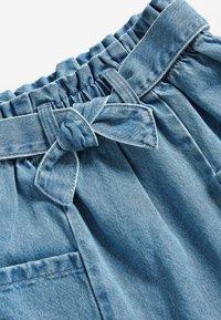 Next - Áčková sukně - light-blue denim - 2