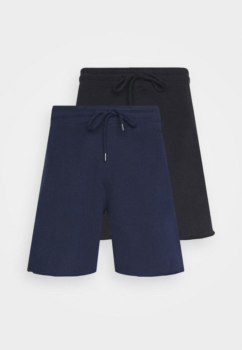 Hollister Co. - 2 PACK - Shorts - black