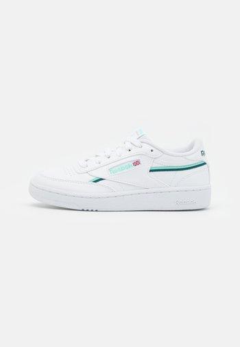 CLUB C 85 VEGAN - Trainers - footwear white/hint mint/midnight pine