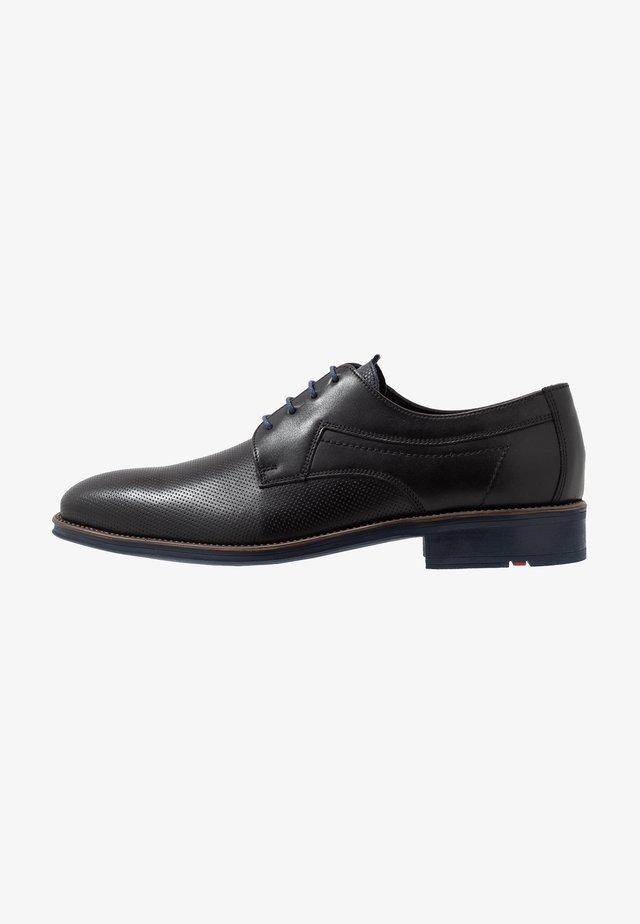 GAVINO - Zapatos de vestir - schwarz/ocean