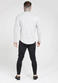 SIKSILK - GYM TEE - Long sleeved top - grey marl - 2