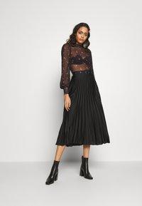 New Look - NINA ROSE - Long sleeved top - black - 1