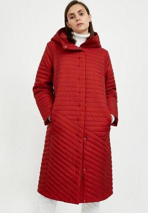 Winter coat - red-brown