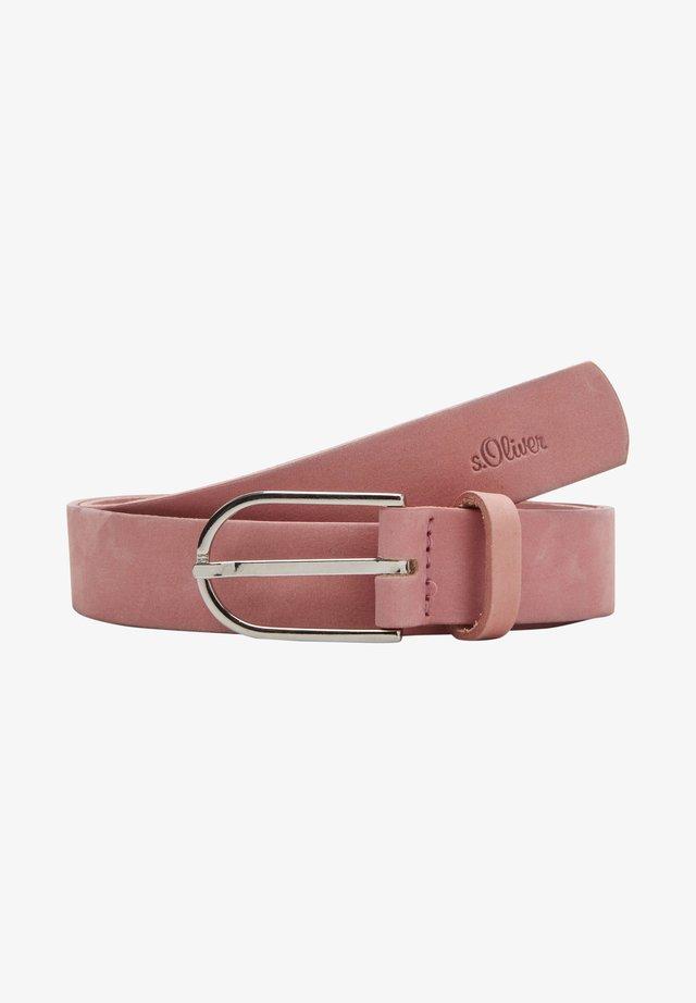 Belt - light pink