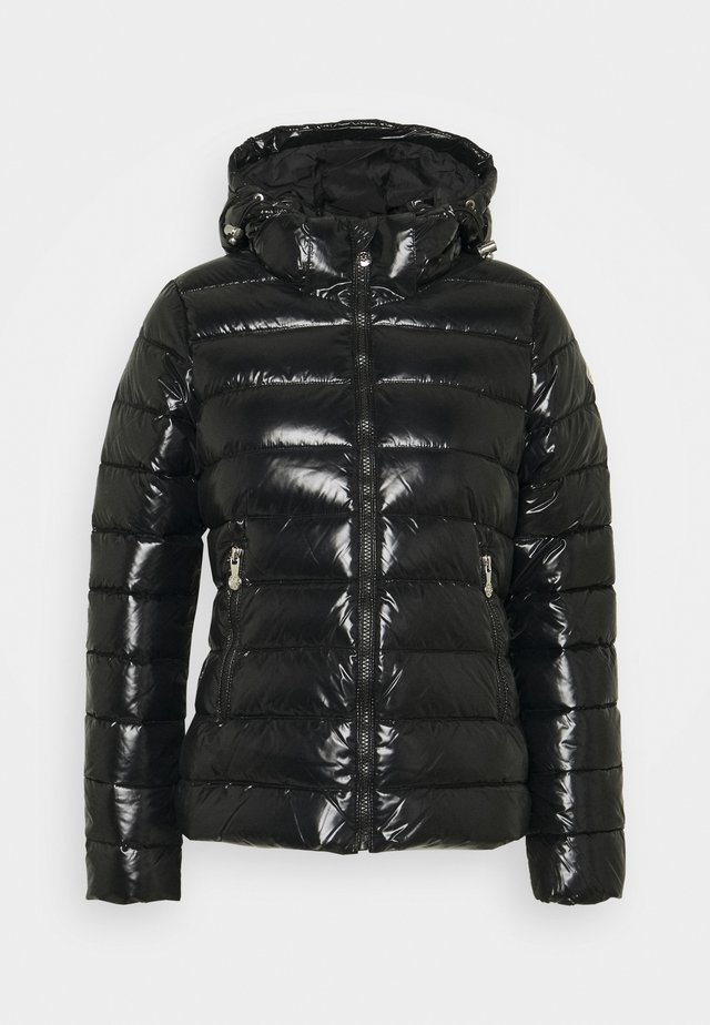 SPOUTNIC SHINY - Gewatteerde jas - black