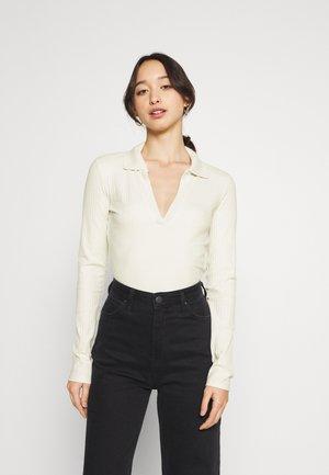 Maglietta a manica lunga - white light